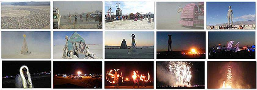 Burning Man 2015 frames