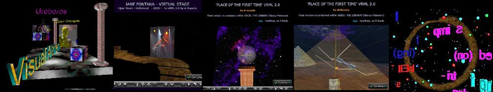 link to Various VRML WORLDS by Al Razutis